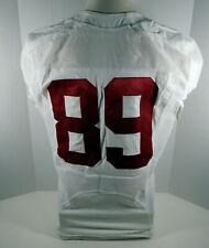 2009-15 Alabama Crimson Tide #89 Game Used White Jersey Bama00067