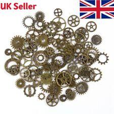 20pcs Bronze Watch Parts Steampunk Cyberpunnk Cogs Gears DIY Jewelry Craft UK