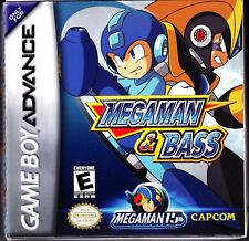 Megaman & Bass Nintendo Gameboy Advance  Game Card 100% Genuine EUR PAL RARE