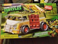 New! Teenage Mutant Ninja Turtles PARTY WAGON TMNT RETRO VAN PAVEMENT POUNDER