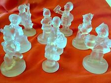 Goebel Crystal Figurines Set of 9