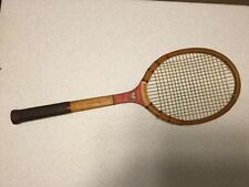 Vintage Wright & Ditson Davis Cup Wood Tennis Racket Wooden Championship Play
