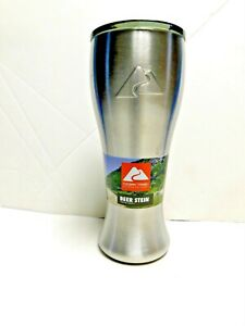 Ozark Trail Beer Stein with Lid  Stainless Steel New with Label