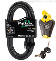 Master Lock - (1) Python Adjustable Cable Lock 12 ft Long - Model #8413-12