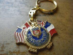 GENDARMERIE KEY RING BADGE MEDAL ESCORTE PRESIDENTIELLE GARDE REPUBLICAINE 1994