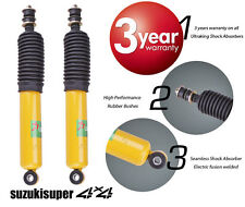 2 Holden 4wd Rodeo R7 R9 RA Front Gas Shock Absorbers 35mm Bore+ Dust Cover Boot