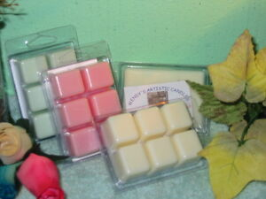 3 Six packs Clamshell Scented Tart Melts Handmade for all warmers U choose D-H