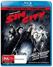 Sin City (Blu-ray, 2009, 2-Disc Set)