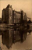 Solesmes France CPA 1949 L'Abbaye Saint Pierre vue du Nord Est Blick auf Abtei