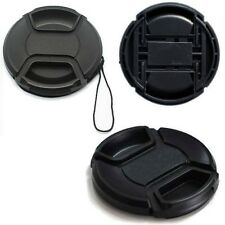 49mm Center-Pinch Snap-on Front Lens Cap Cover for Canon Nikon DSLR CAMERA Lens