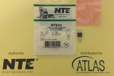 NTE NTE54 TRANSISTOR NPN SILICON 150V IC=8A TO-220 CASE HIGH FREQUENCY DRIVER