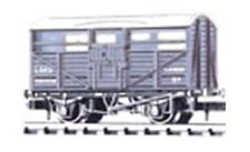 Peco NR-45M - LMS 8Ton Cattle Wagon 294528 Grey/White Livery 'N' Gauge -T48 Post