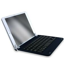 Navy Aluminum Bluetooth 3.0 Wireless Keyboard Holder Case Cover for iPad Mini