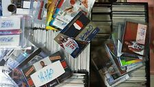 NBA 12 Card Hot Pack Guaranteed 3 Autograph / Game Used Jersey Cards Basketball