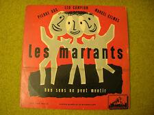 """LP 10"""" LES MARRANTS-PIERRE DAC-CAMPION- CELMAS-FDLP 1020-DESSIN BOTTIAU"""