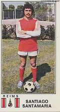 N°280 SANTIAGO SANTAMARIA ARGENTINA STADE REIMS PANINI FOOTBALL 77 STICKER 1977