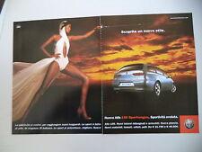 advertising Pubblicità 2002 ALFA ROMEO 156 SPORTWAGON