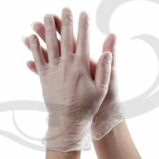 Vinyl Gloves 1 Pair Size Medium - Perfect for using Hair dye & Bleach