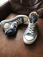 Converse Chuck Taylor Womens High Tops Size UK6 In Excellent Condition