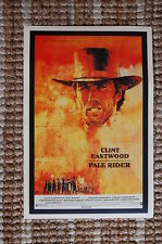 Pale Rider Lobby Card Movie Poster Western