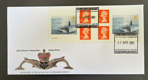 Rare Peter Payne Submarine Booklet FDC No 8 of 20 issued