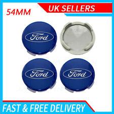 4X Ford 54 mm Noir Roues En Alliage Centre Caps s/'adapte à la plupart des Modèles Focus Fiesta Mondeo