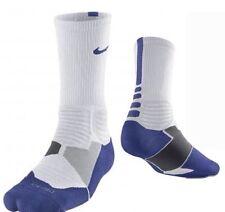 Nike Hyper Elite Amorti Basket Chaussettes Bleu/Blanc Taille Royaume uni 2-5 Eur 34-38