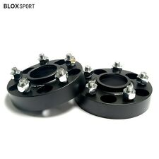 (4) 30mm Wheel Spacers Fit Ford Mustang Explorer 5x114.3 CB 70.5 With Lugs Nuts