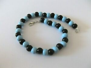 CLASSY MEN'S WOOD BEAD  ANKLET   11 1/2  - 11 3/4 INCHES