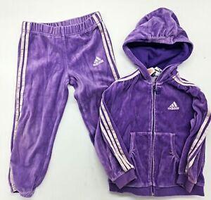 Original Cuddle Jogging Set Trousers Jacket By Adidas Size 98