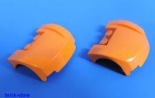 LEGO® Nr-6016459 / 3x4x1 2/3 Lkw Kotflügel / Motorhaupe orange / 2 Stück
