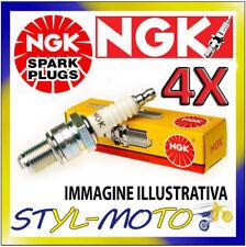 KIT 4 CANDELE NGK SPARK PLUG DPR8EA-9 YAMAHA Vmax 1200 (2EN) 2EN 1200 1997