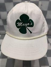 MAYO'S 4 Leaf Clover Adjustable Adult Cap Hat
