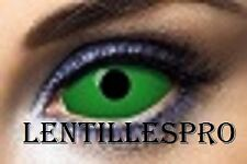 lentilles scléra  vert 22 mn crazy lens 1 an pour halloween