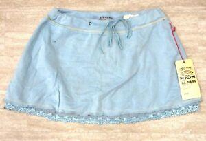 NEW Da Nang Women's Drawstring Azure Short Skirt SFG295 SMALL/ S