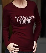 Cotton Blend Slogan T-Shirts for Women without
