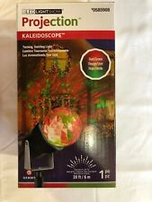 GEMMY LED LIGHTSHOW PROJECTION ~ Kaleidoscope Red/Green #0585908