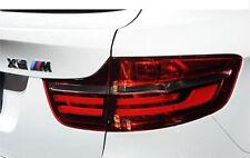 BMW GENUINE X6 SERIES E71 E72 BLACK LINE REAR TAILLIGHT LAMP SET KIT 2326585