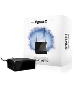 Fibaro FGB-002 Dimmer Bypass 2, Black
