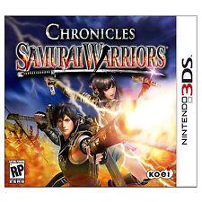 CHRONICLES SAMURAI WARRIORS GAME GIOCO NINTENDO 3 DS 2 DS 3DS NUOVO SIGILLATO