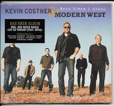 CD Kevin Costner & Modern West`From Where I Stand` Neu/New/OVP feat. Nena