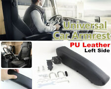 Universal Soft PU Leather Car Seat Armrest Console Box Auto Seat Parts-Left Side