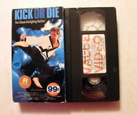 📼 VHS: Kick of Die (1987): AIP rare