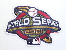2001 WORLD SERIES AUTHENTIC MAJOR LEAGUE BASEBALL SLEEVE PATCH