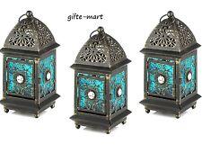 10 BLUE Moroccan Marrakech Lantern Candle holder wedding table centerpiece decor