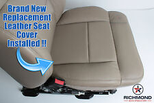 05-08 F150 Exhaust Running Step Boards -Driver Bottom LEATHER Seat Cover Tan