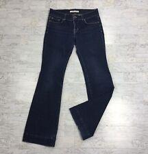 J BRAND Womens Size 29 Jeans Petite Heartbreaker Dark Blue Denim Flare Leg Pant
