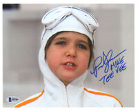 PARIS THEMMEN SIGNED AUTOGRAPHED 8x10 PHOTO MIKE TEE VEE WILLY WONKA BECKETT BAS