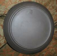 vintage Denmark Mid century Modern Dansk Flamestone smooth  dinner plate