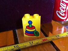 Duplo Lego Hoops Image Block Childrens Create Toy Building Official Vintage